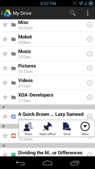 Google-Drive-for-Android-File-Arrow-Menu