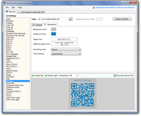 BarCode-Generator-Freeware-Appearance