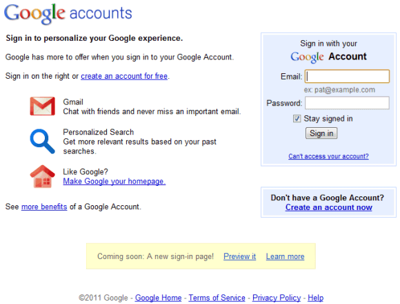 google-login-page-old