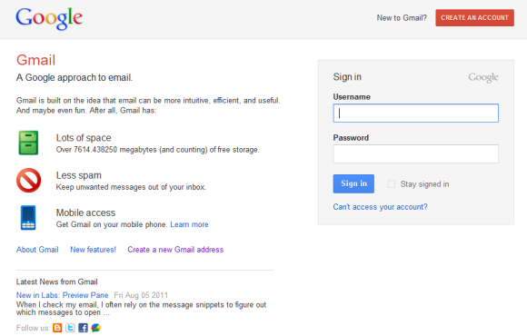 google-login-page-test