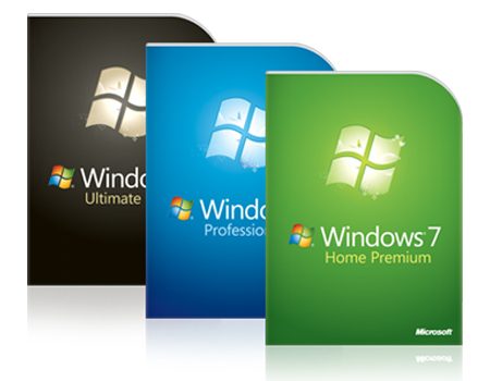 windows7 versions